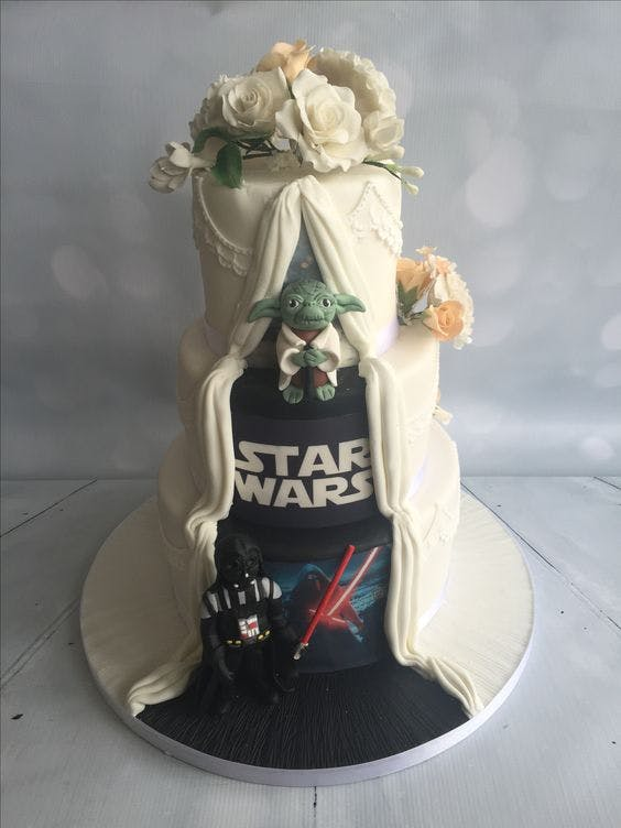 starwars wedding cake top 11 wedding cakes inspired by 20504