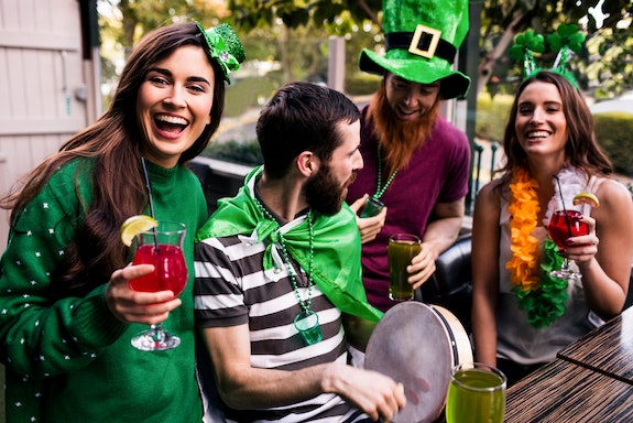 How to Celebrate St. Patrick's Day in Style at Home or Away