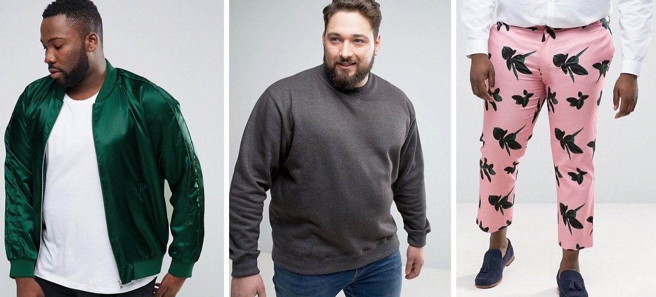 ASOS Embrace Big and Tall with New Men's Plus-Size Range